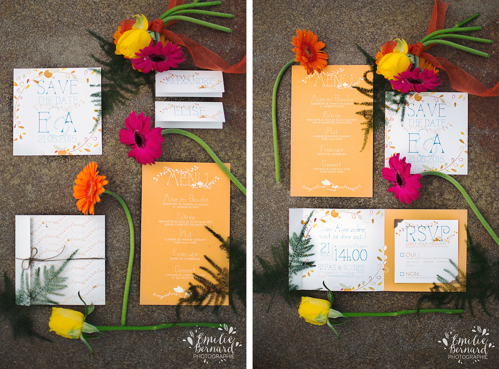 InspirationOrangerie papeterie mariage